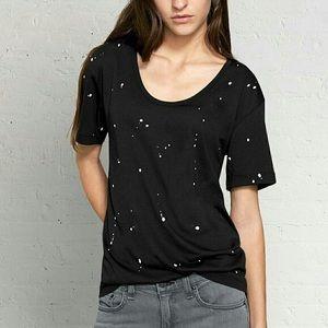 Rag and Bone paint splatter T shirt